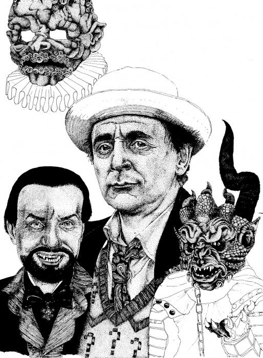 Sylvester McCoy by Kremmen